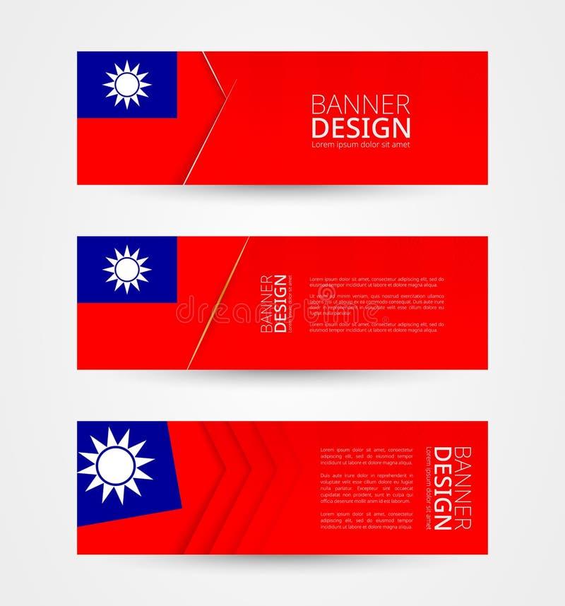 Taiwan Taiwanese Flag Flagge Rhodium Silber Manschettenkn/öpfe