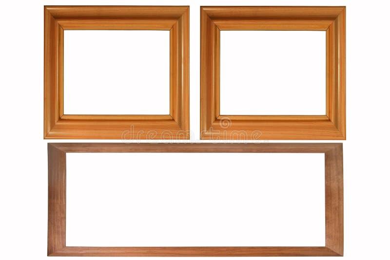 Download Set Of Three Photo Frames Royalty Free Stock Photos - Image: 8123378