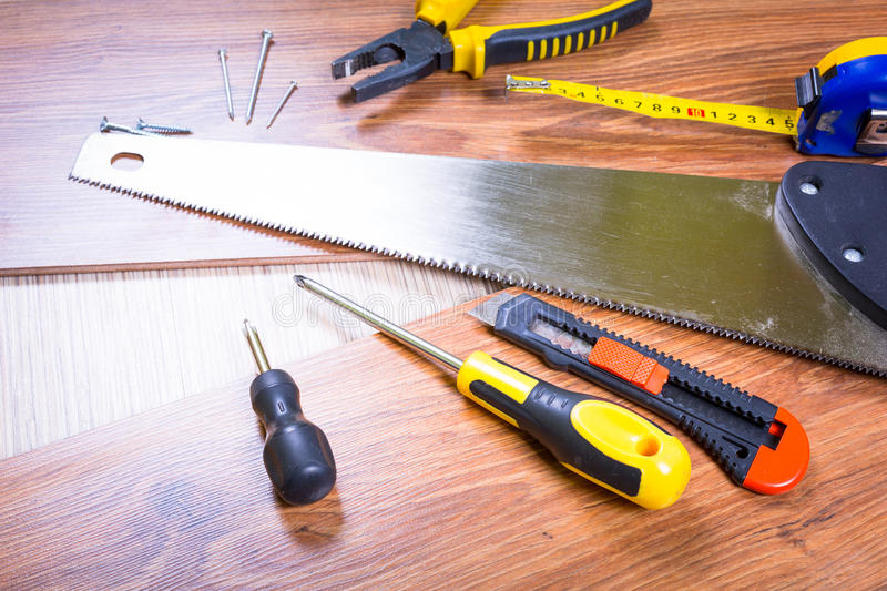 Download Set Of Tools For Home Renovation Stock Image - Image: 33863567