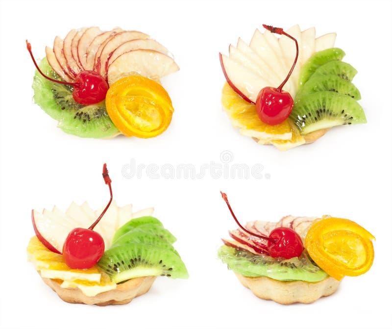 Download Set tort z owoc obraz stock. Obraz złożonej z kosz, kolekcja - 28957455