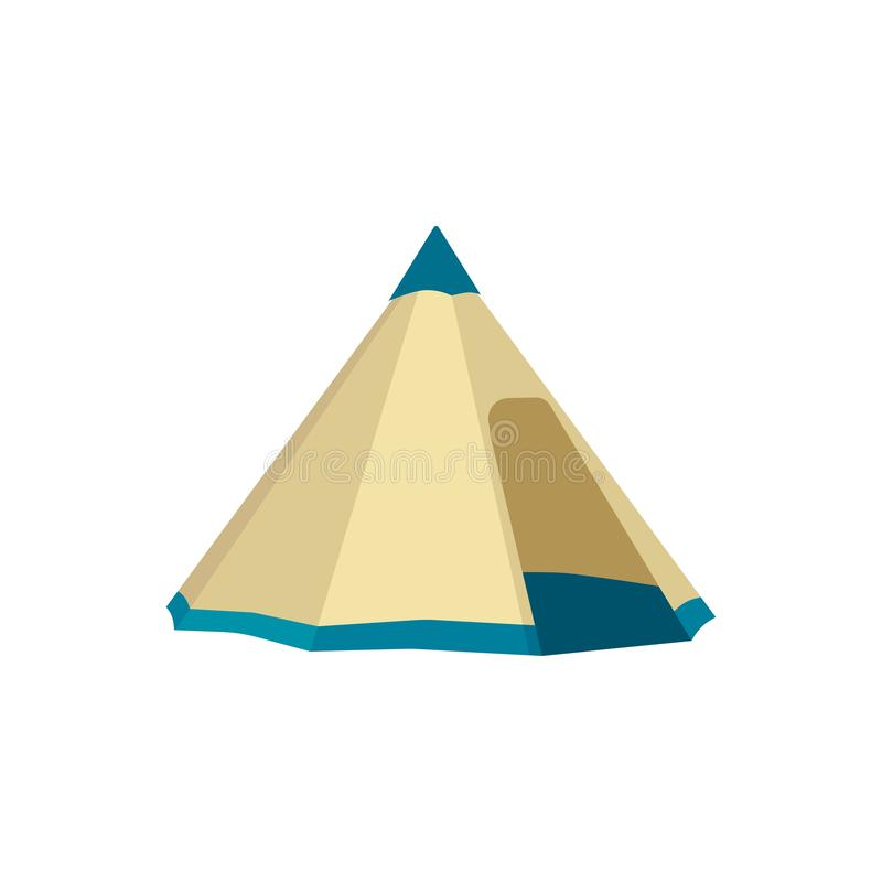 Set of tourist tents. Collection camping tent icons. Vector illustration. Set of tourist tents. Collection of camping tent icons. Vector illustration eps10 royalty free illustration