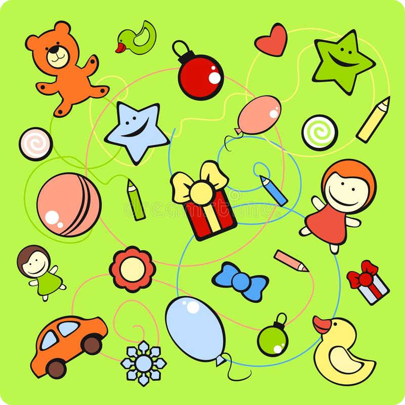 Download Set of toys stock vector. Illustration of group, clipart - 22403466