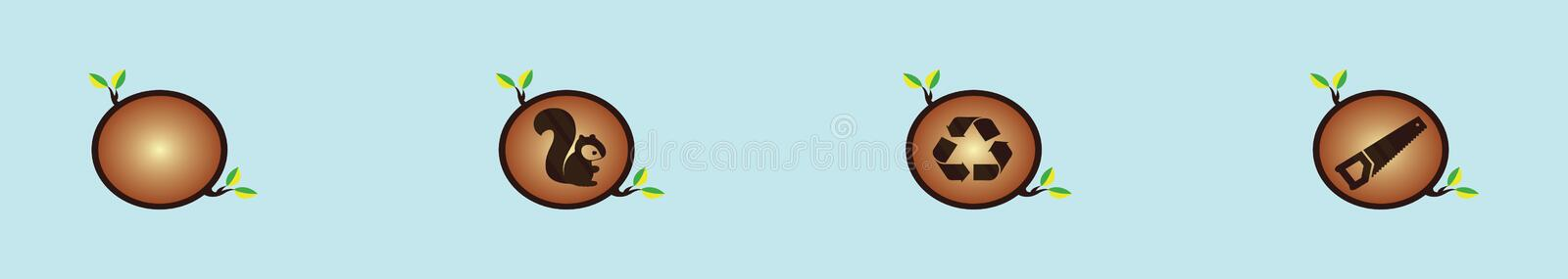 Tree Rings Isolated Stock Illustrations 817 Tree Rings Isolated Stock Illustrations Vectors Clipart Dreamstime Set funny cartoon trees and green bushes vector. dreamstime com