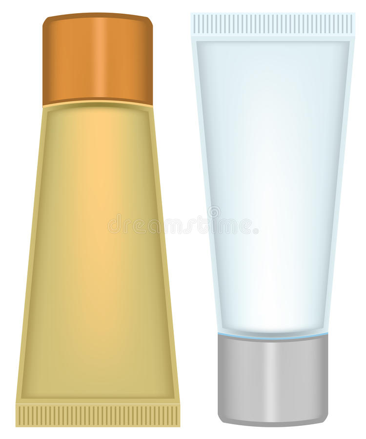 Download Set Tube Cosmetics Stock Photo - Image: 18858600