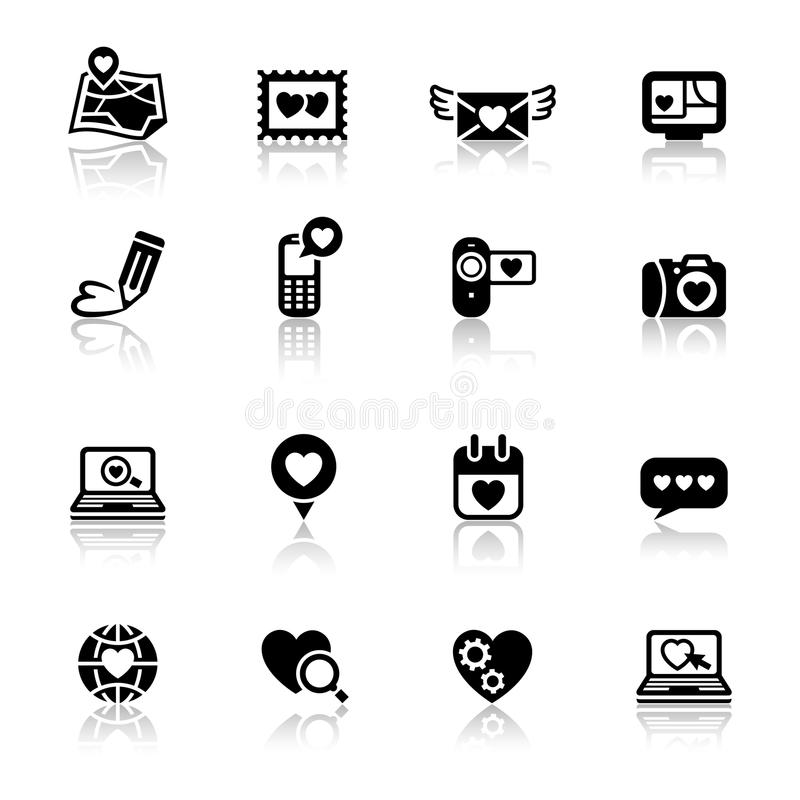 Free Set Valentine S Day Icons, Love Royalty Free Stock Images - 22962009