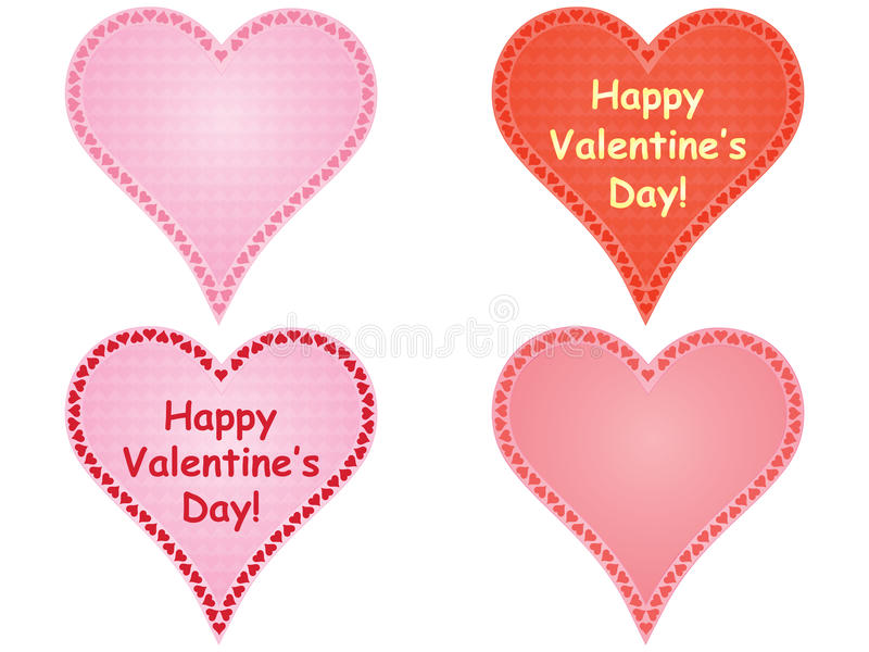 Set Of Valentines Stock Image
