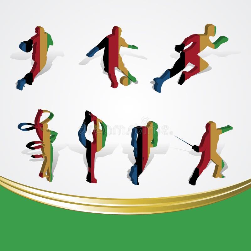 Download Set Of Various Icon Sport Or Symbol Sports Colorfu Stock Illustration - Illustration: 24746027