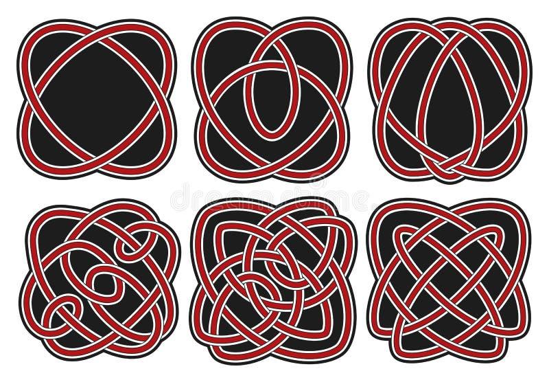 Download Set Of Vector Celtic Design Elements Stock Vector - Illustration: 27529326
