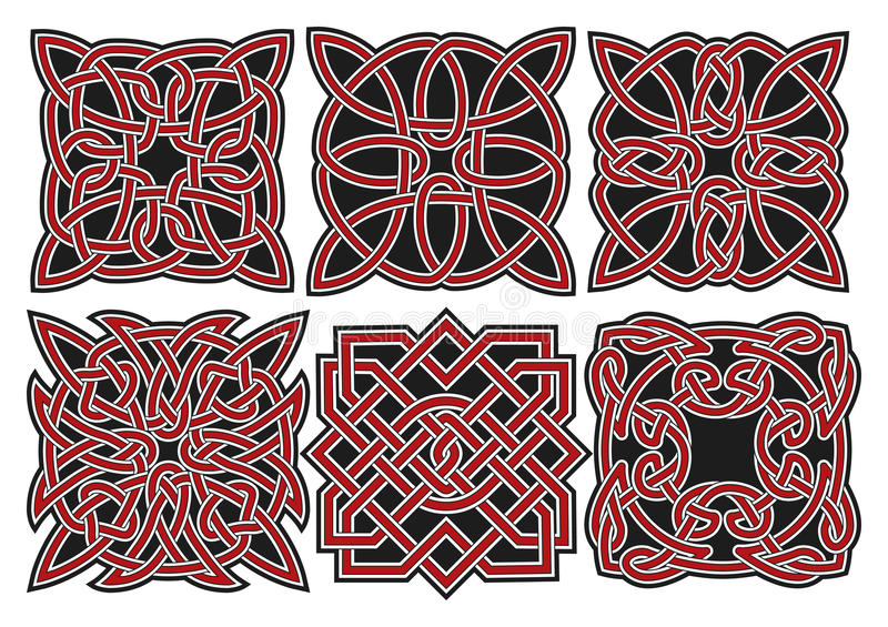 Download Set Of Vector Celtic Design Elements Stock Vector - Image: 27529334