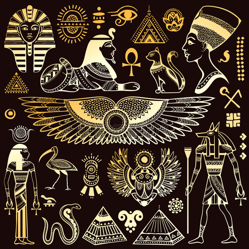 Egyptian Symbols Stock Images, Royalty-Free Images ...
