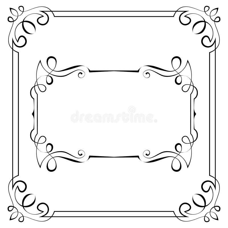 Download Set of vector frames stock vector. Illustration of border - 41892165
