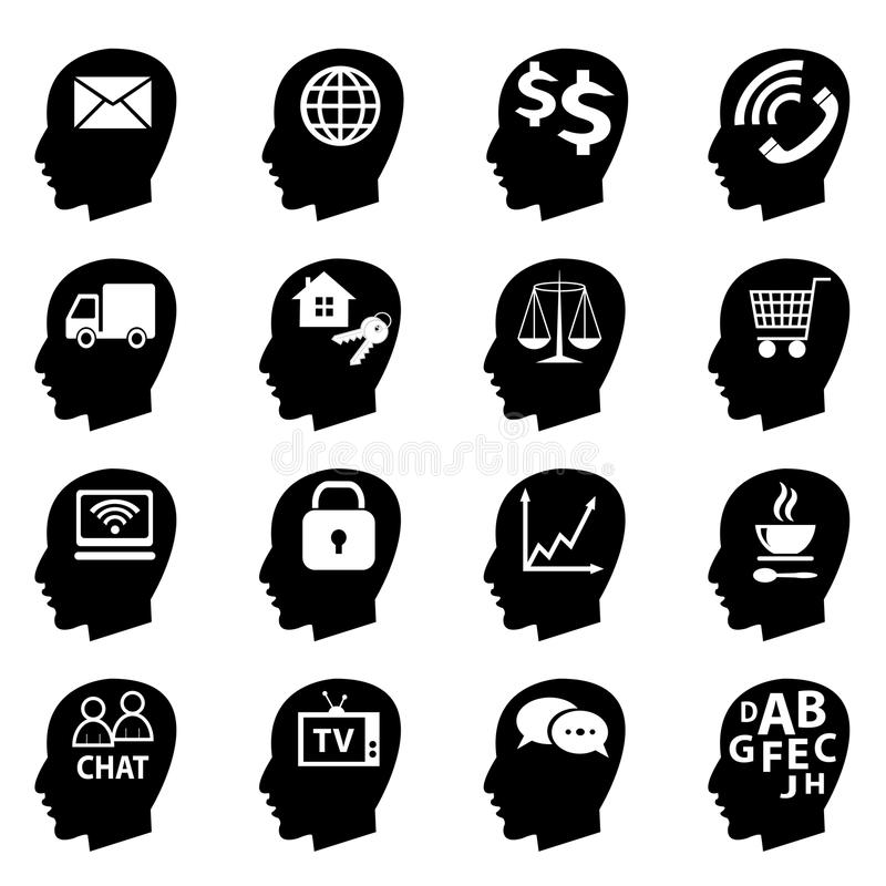 Set Of Vector Icons Stock Vector