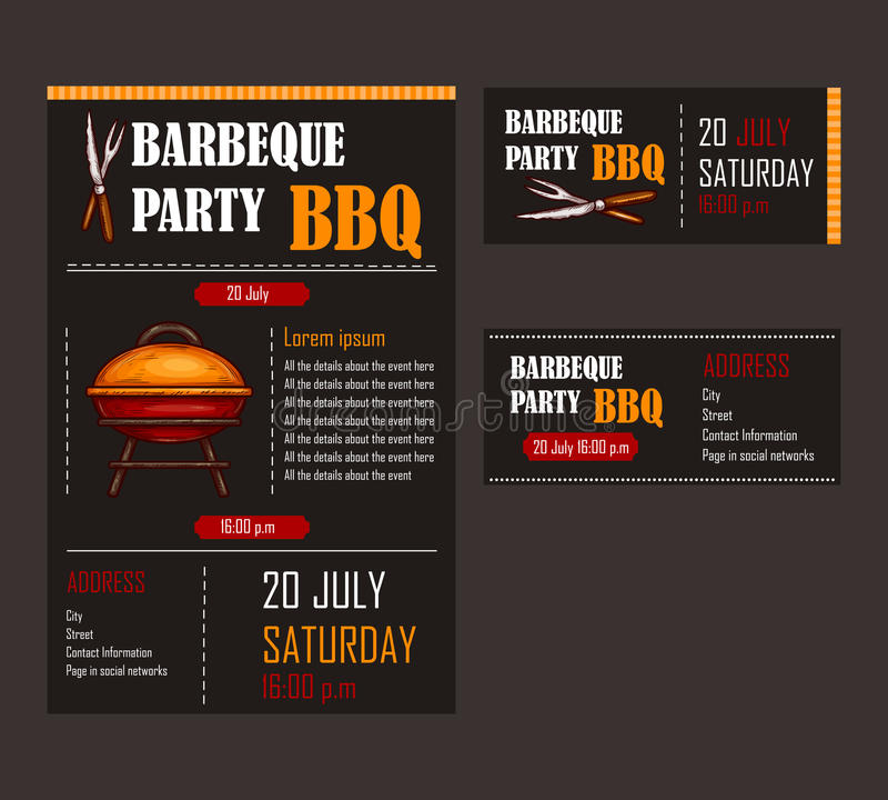 bbq tickets template koni polycode co