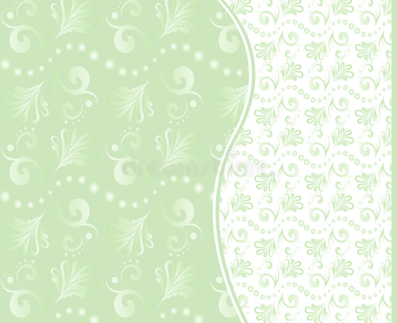 Set of vector seamless floral backgrounds.
