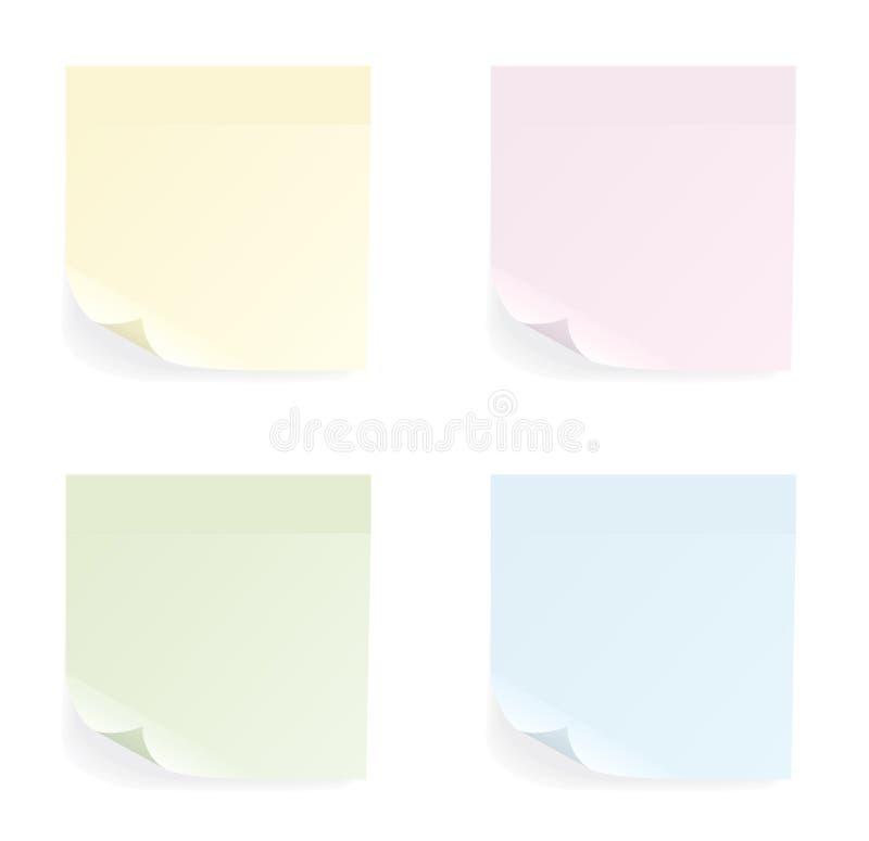 Download Set Verschiedene Farbenaufkleber Vektor Abbildung - Illustration von real, getrennt: 9079074
