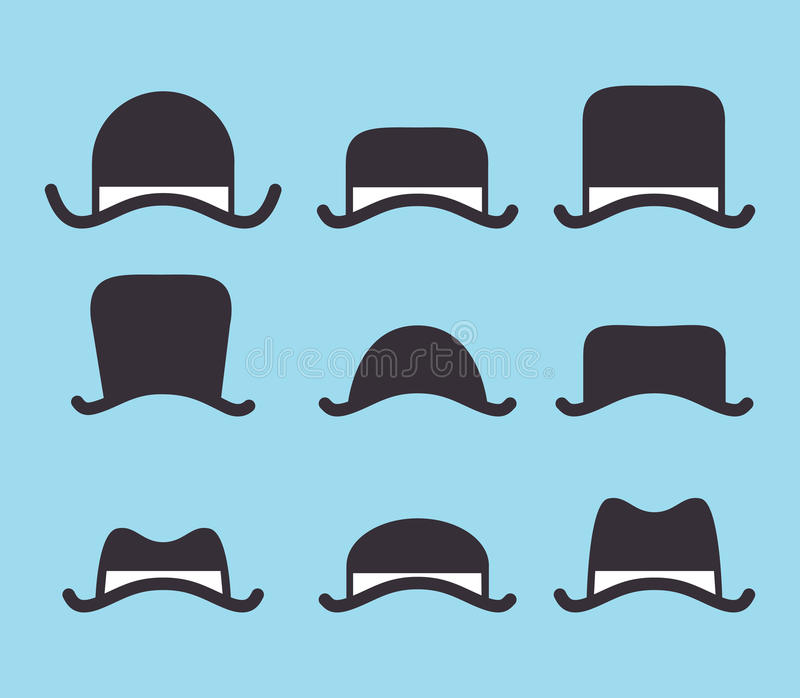 Download Vintage hat stock illustration. Image of cartoon, eyes - 29864876