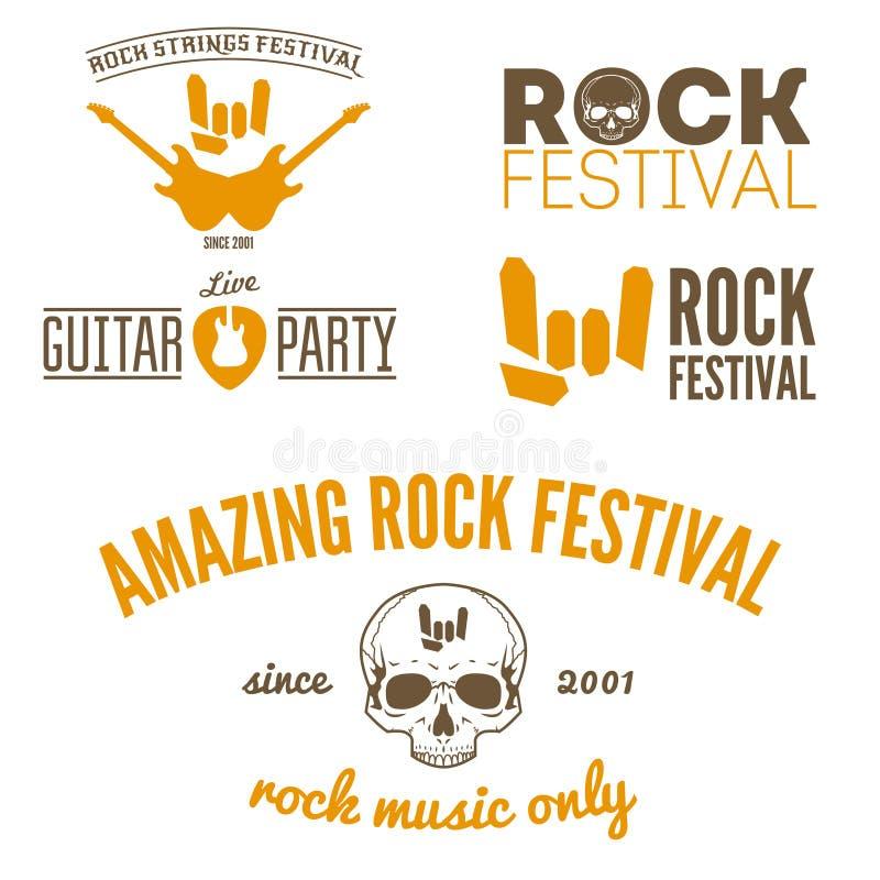Download Set Of Vintage Logo, Badge, Emblem Or Logotype Stock Vector - Illustration of logo, festival: 52003900