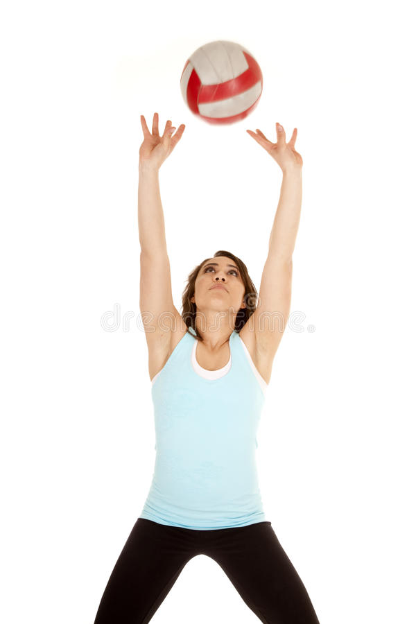 Download Set volleyball stock photo. Image of beauty, competition - 20661572