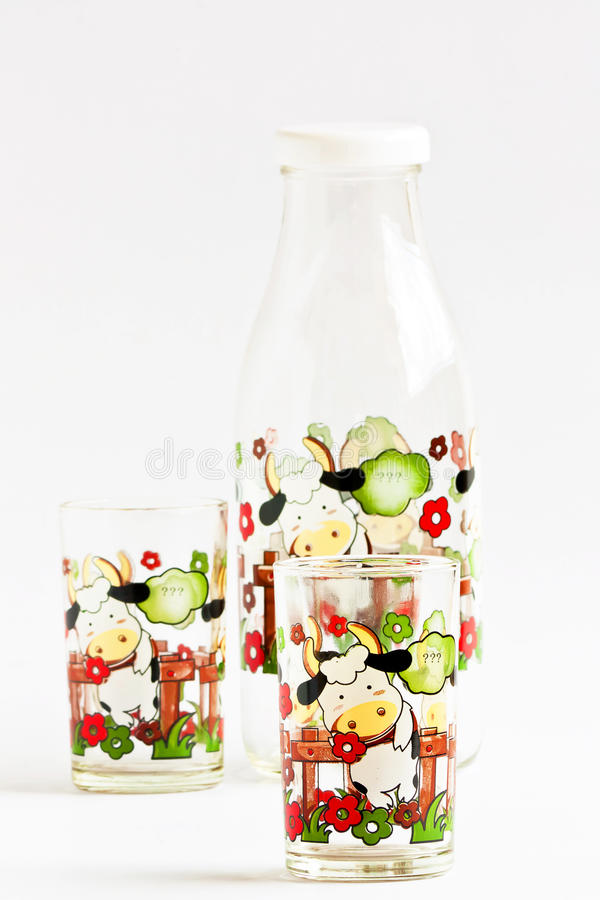 Download Set Of Water Bottle For Gift. Stock Image - Image: 26542795