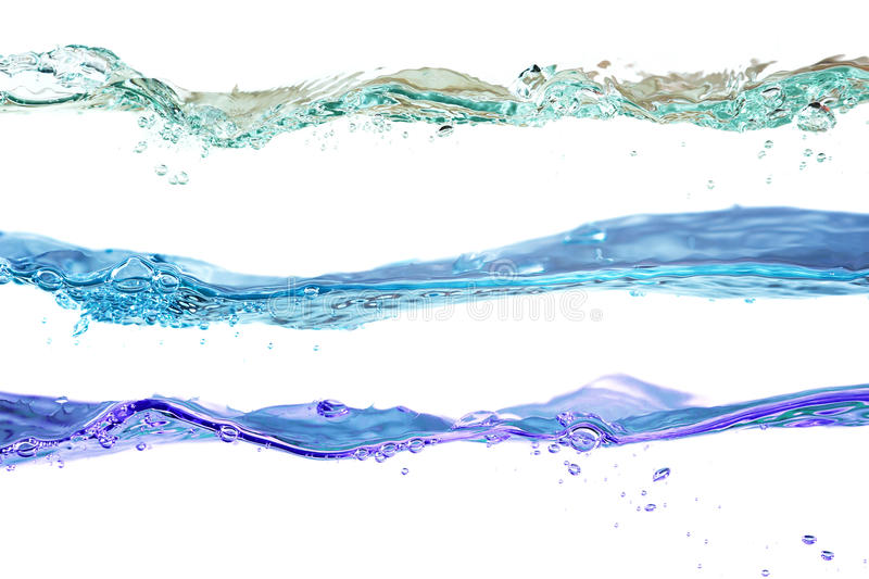 Download Set Of Water Waves Natural, Blue And Violet Colors Stock Image - Image of clear, advertising: 28509889