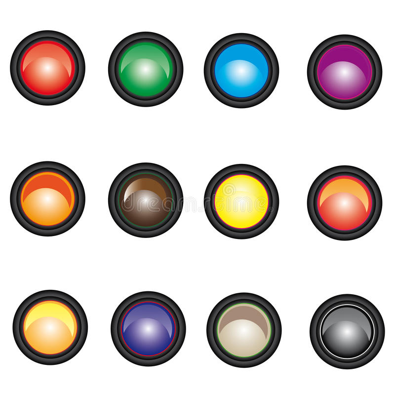 Download Set Of Web Buttons Royalty Free Stock Images - Image: 20753929