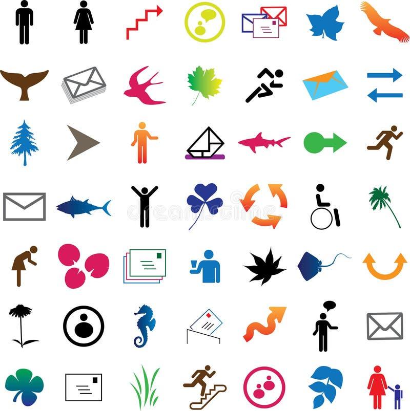 Free Set Web-icons - 1 Royalty Free Stock Photos - 6967468