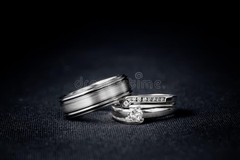 Set of Wedding Rings stock image