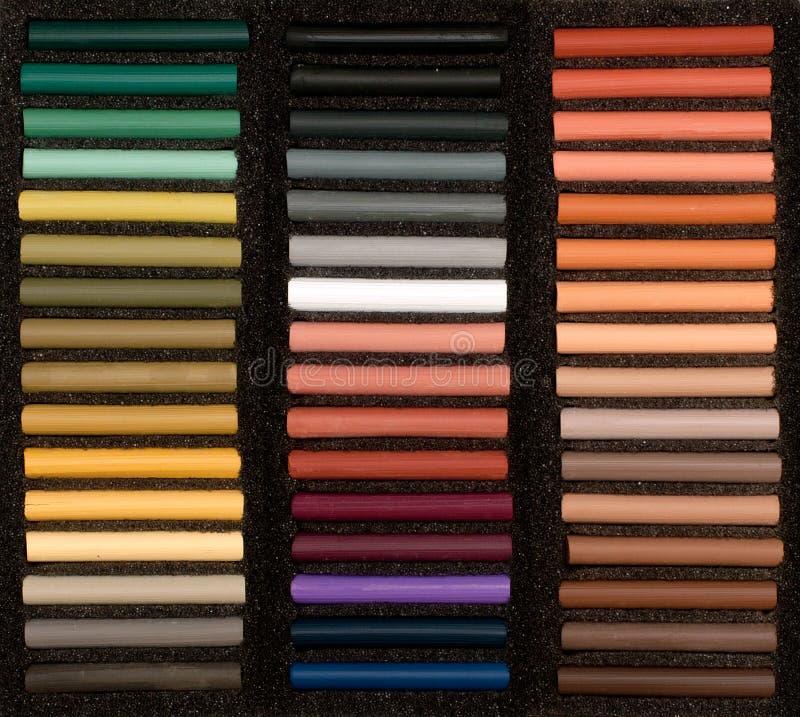 Set Weich Pastell Lizenzfreies Stockbild