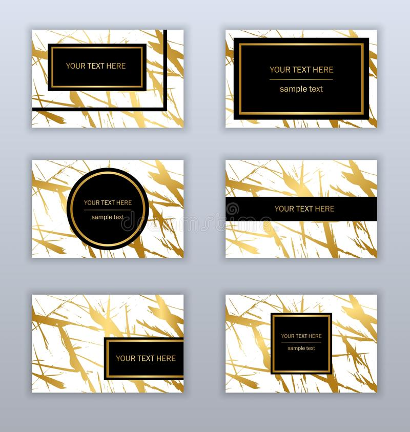 88 Black And Gold Business Card Template Black And Gold Business