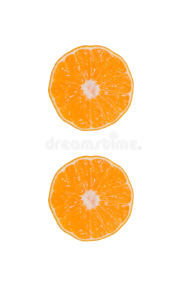 Download Set Whole And Sliced Mandarines Stock Image - Image: 83705849