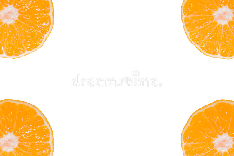 Download Set Whole And Sliced Mandarines Stock Photo - Image: 83705862