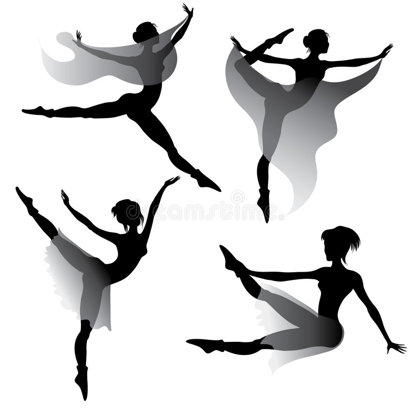 Download Set Of Woman Dancing Modern Ballet Stock Photos - Image: 8312963