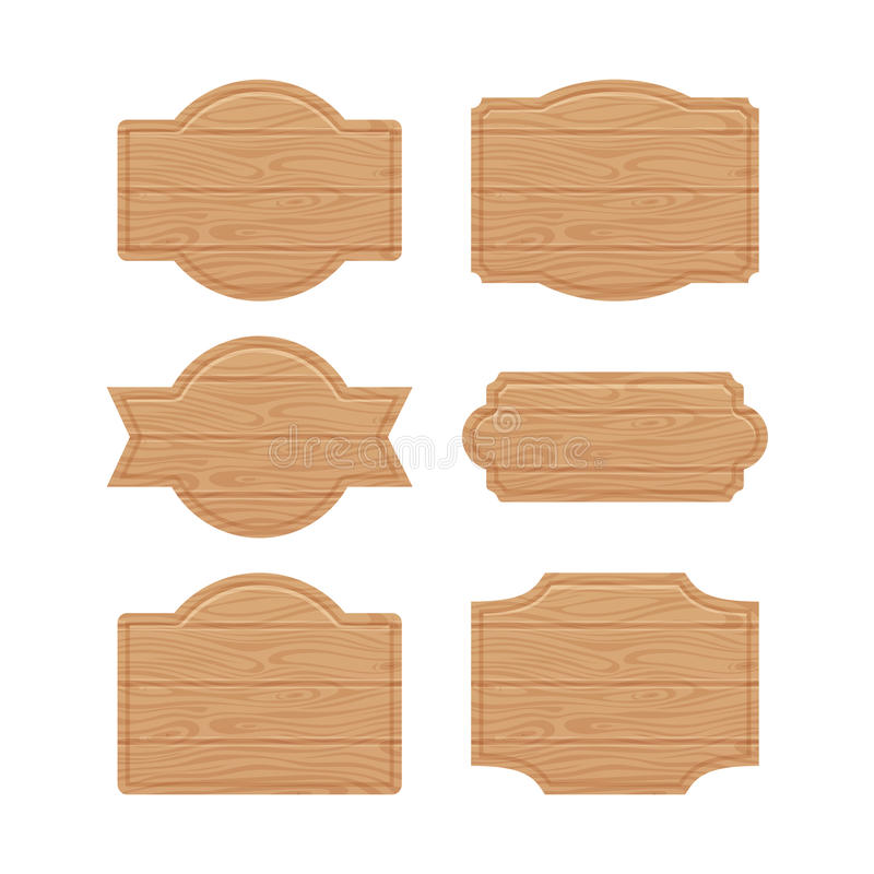set of wooden sign boards for sales prices stock vector rh dreamstime com vector wood grain free vector wood plank