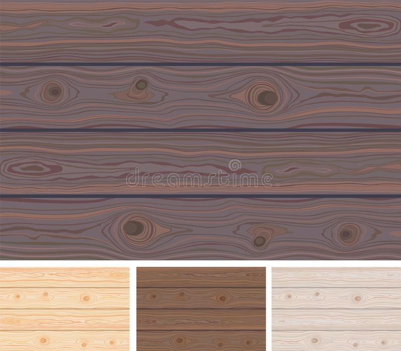 Set of Wooden striped textured background. Brown wooden wall, plank, table or floor surface. Cutting chopping board. Colorful royalty free stock photos