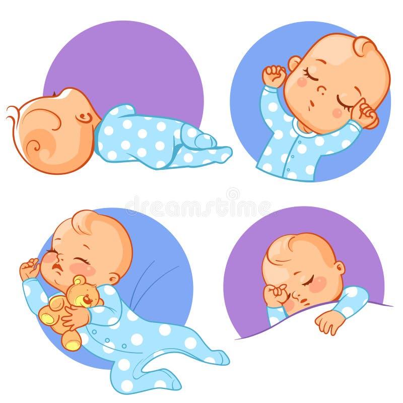 Set z dziecko majcherami ilustracji