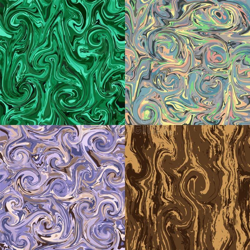 Set z marmoryzacja kiedy by?o t?a mo?e poucza? tekstury marmurem u?y? ilustracji