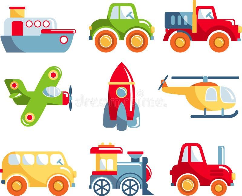 Set zabawka transport