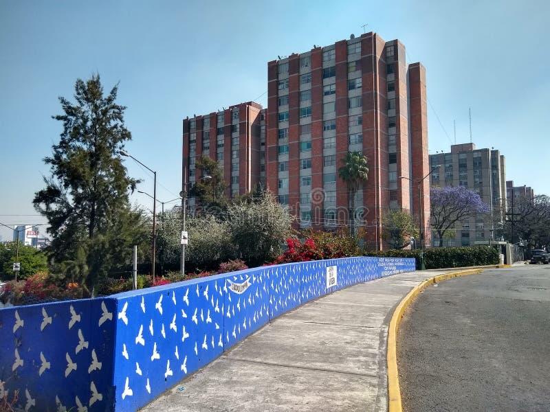 Set zespoły mieszkaniowi w Meksyk obrazy stock