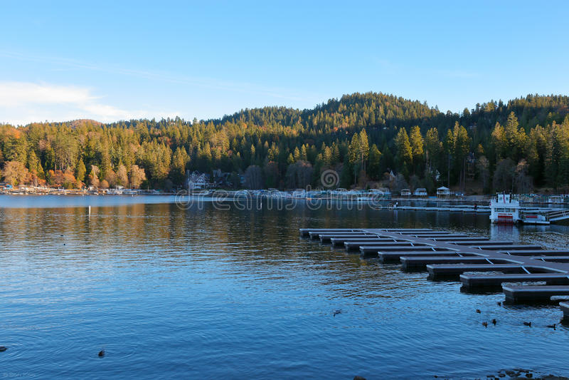 Seta do lago fotos de stock