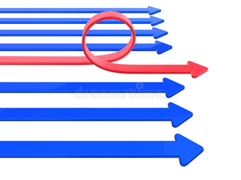Setas ilustração do vetor