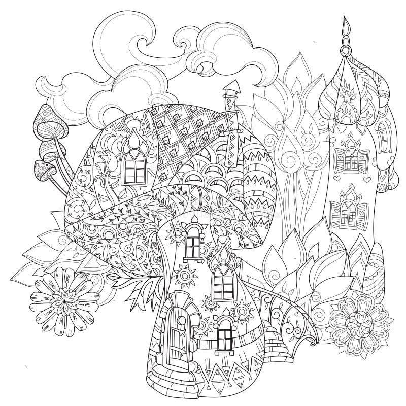 Setas dibujadas mano de la magia del esquema del garabato libre illustration
