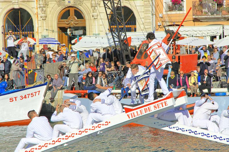 Stopover in Sete – Maritime Traditions Festival royalty free stock photography