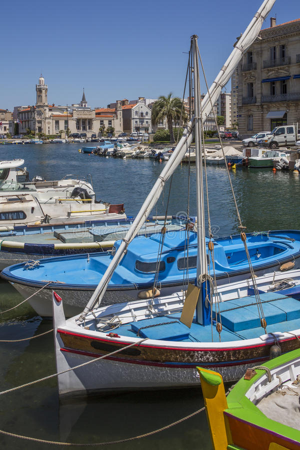 Download Sete - French Riviera stock photo. Image of mooring, riviera - 26688826
