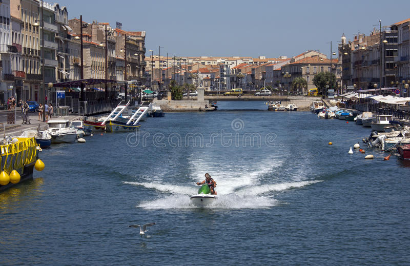 Download Sete - French Riviera - South Of France Editorial Photo - Image: 27017556
