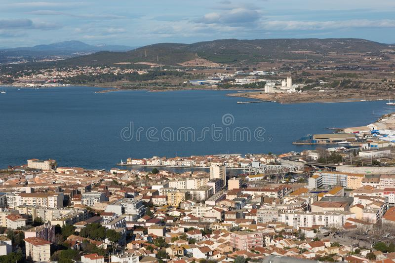 Sete - Herault - France royalty free stock photography