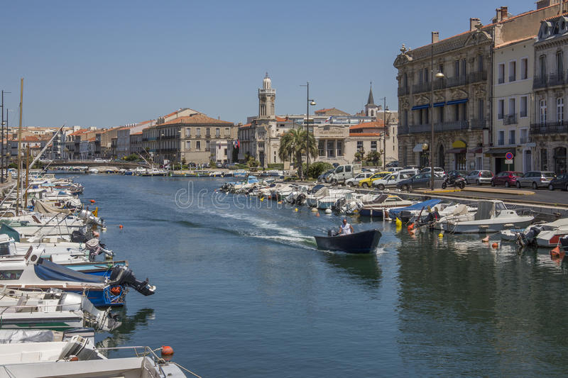 Download Sete - South of France editorial stock photo. Image of resort - 26688713
