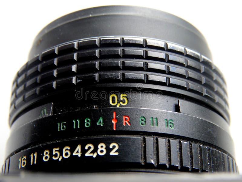 setembro, 22, 2017 Arzamas, zênite velho da câmera de Rússia fotografia de stock