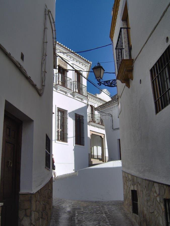 Setenil De Bodegas, Spanien lizenzfreies stockfoto
