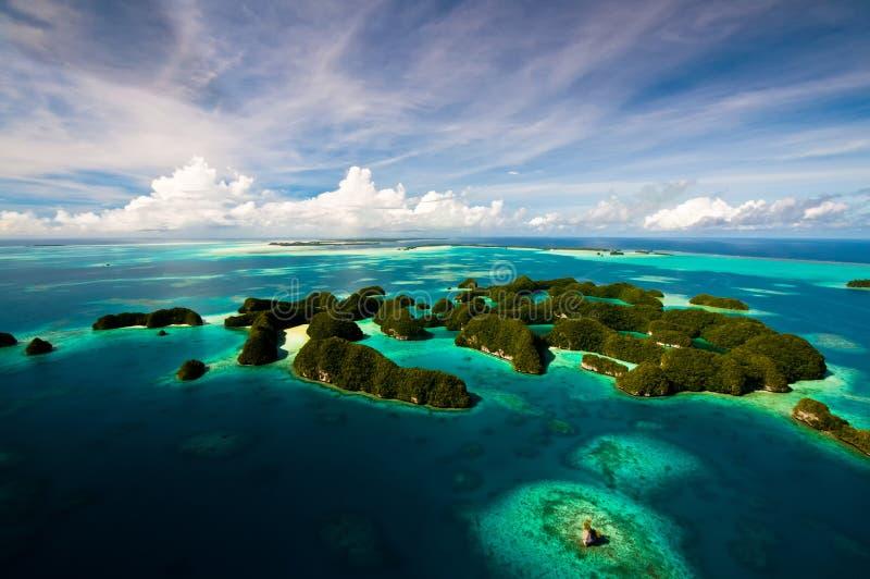 Setenta ilhas 2 imagem de stock