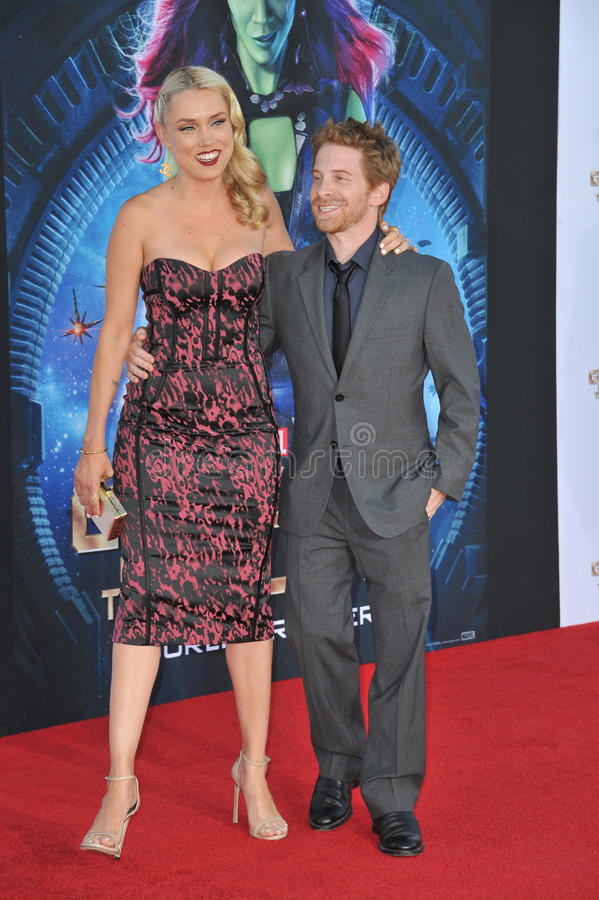 Seth Green & Clare Grant royalty-vrije stock afbeelding